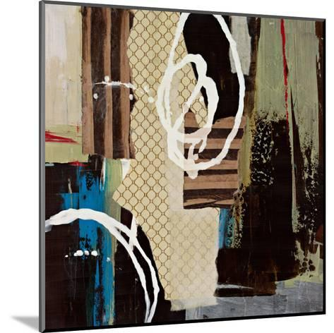 Abstract Collage IV-Bridges-Mounted Art Print