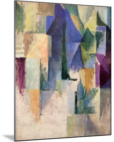 Fensterbild 1912-13-Robert Delaunay-Mounted Art Print