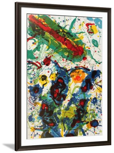 Untitled (1989)-Sam Francis-Framed Art Print