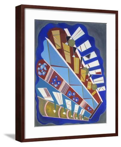 Untitled-Wassily Kandinsky-Framed Art Print