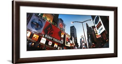 Birds on Broadway-Alexander Ehhalt-Framed Art Print