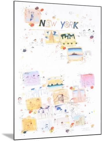 New York, a regular place to live-Wilhelm Scholte-Mounted Art Print