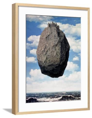 Le Chateau des Pyrennees-Rene Magritte-Framed Art Print