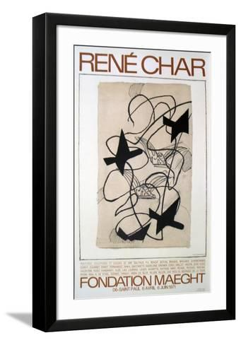 Rene Char-Georges Braque-Framed Art Print