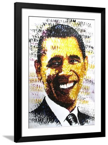 Obama-Chris Britz-Framed Art Print