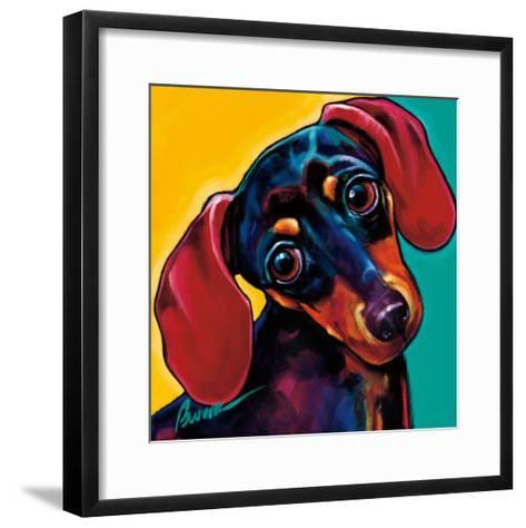 Mori-Ron Burns-Framed Art Print