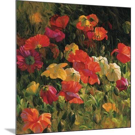Iceland Poppies-Leon Roulette-Mounted Art Print