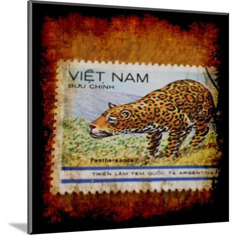 Panthera Stamp-Jean-Fran?ois Dupuis-Mounted Art Print