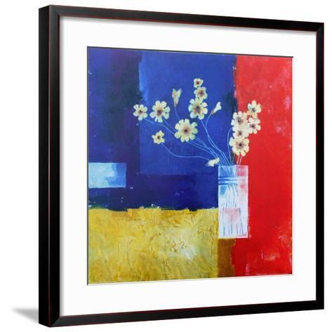 Phantasy in Red II-Don Valenti-Framed Art Print