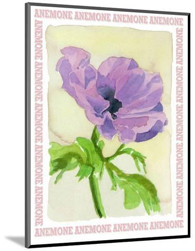Message in a Bottle, Anemone-A. Vargas-Mounted Art Print