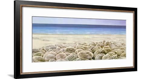 Facing the Waves III-G. Moss-Framed Art Print