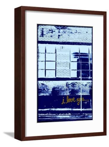 I Love You II-Pascal Normand-Framed Art Print