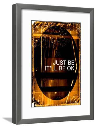 Just Be-Pascal Normand-Framed Art Print