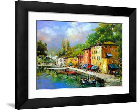 Lago Maggiore-E^ Scognamiglio-Framed Art Print