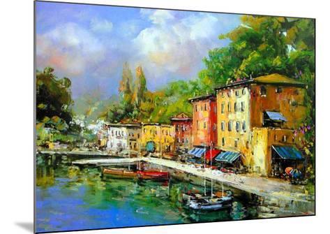 Lago Maggiore-E^ Scognamiglio-Mounted Art Print