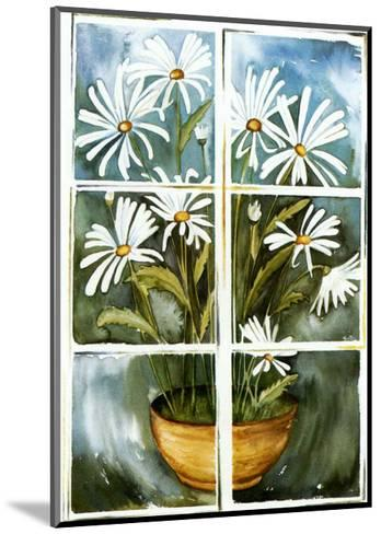 Flowers at the Window II-P. Sonja-Mounted Art Print