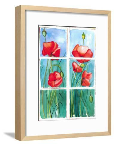 Poppies-P. Sonja-Framed Art Print