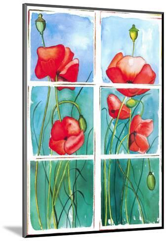 Poppies-P. Sonja-Mounted Art Print