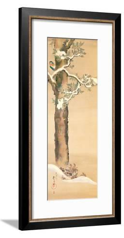 December-Sakai Hoitsu-Framed Art Print