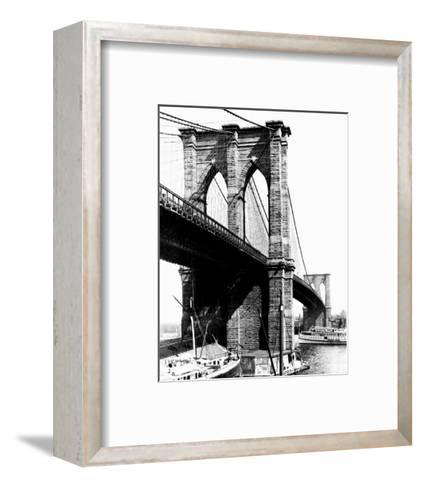 Brooklyn Bridge, New York, c.1925--Framed Art Print