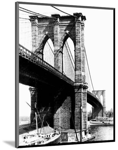 Brooklyn Bridge, New York, c.1925--Mounted Art Print
