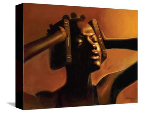 Hear No Evil (Female)-Sterling Brown-Stretched Canvas Print