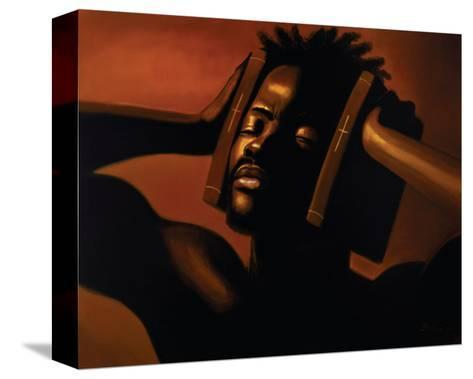 Hear No Evil (Male)-Sterling Brown-Stretched Canvas Print