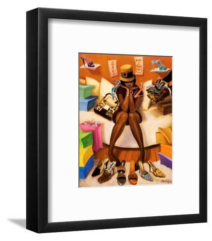 Choices-Sterling Brown-Framed Art Print