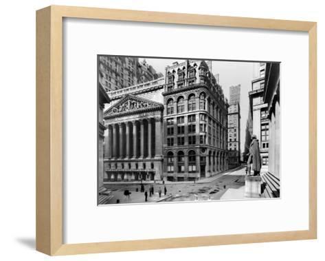 New York Stock Exchange, c.1921--Framed Art Print