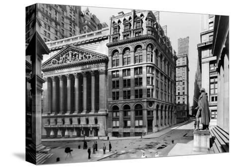 New York Stock Exchange, c.1921--Stretched Canvas Print