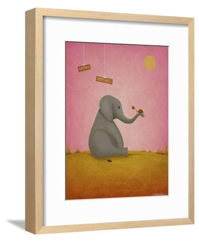Grand Gestures-Shari Beaubien-Framed Art Print