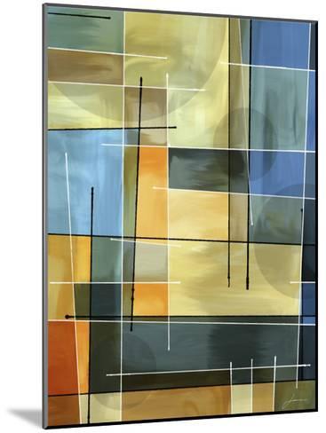 Counter Balance I-James Burghardt-Mounted Art Print