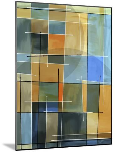 Counter Balance II-James Burghardt-Mounted Art Print