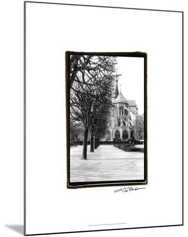 Notre Dame Cathedral IV-Laura Denardo-Mounted Premium Giclee Print
