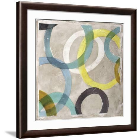 Round and Round II-Megan Meagher-Framed Art Print