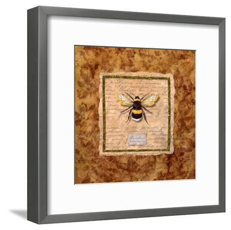Bumble Bee-Abby White-Framed Art Print