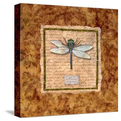 Dragonfly-Abby White-Stretched Canvas Print