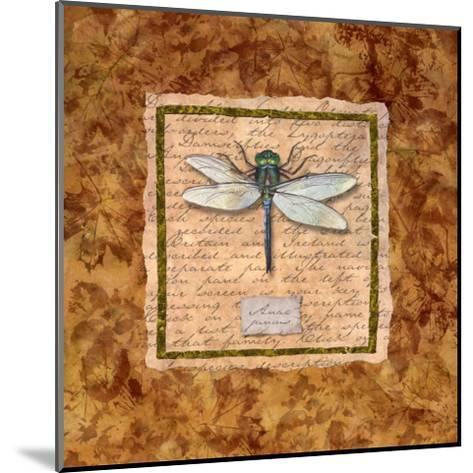 Dragonfly-Abby White-Mounted Art Print