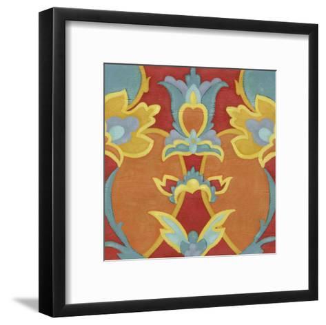 Alhambra Pattern I-Chariklia Zarris-Framed Art Print