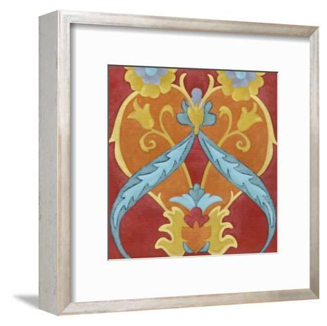 Alhambra Pattern IV-Chariklia Zarris-Framed Art Print