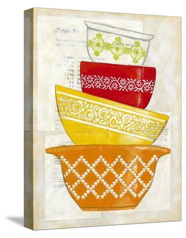 Retro Ware II-Chariklia Zarris-Stretched Canvas Print