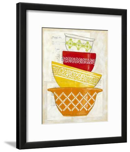 Retro Ware II-Chariklia Zarris-Framed Art Print