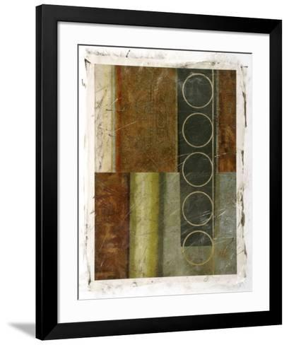 Multi-textured Abstract I--Framed Art Print