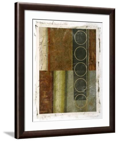 Multi-textured Abstract I--Framed Art Print