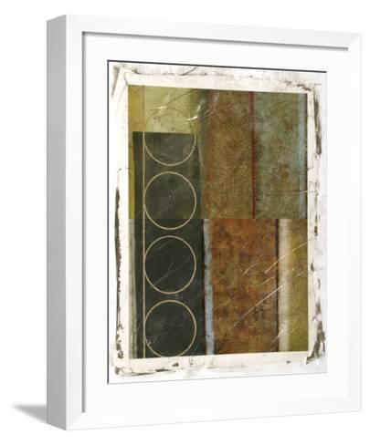 Multi-textured Abstract II--Framed Art Print