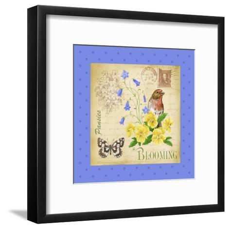 Blooming Garden IV-Jane Maday-Framed Art Print