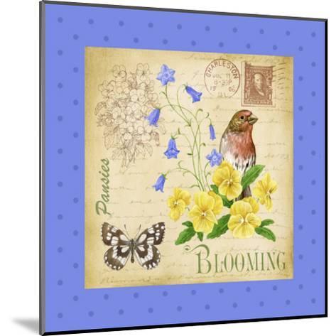 Blooming Garden IV-Jane Maday-Mounted Art Print
