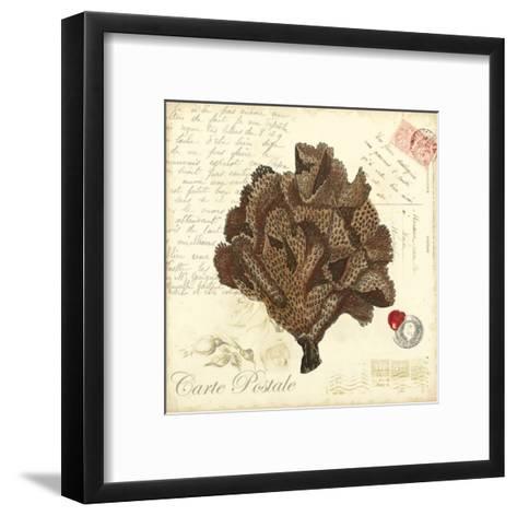 Small Romance du Mer IV--Framed Art Print