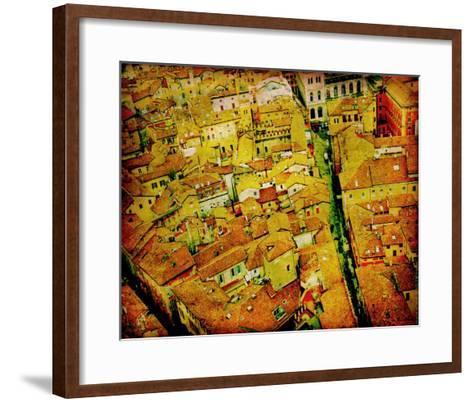 Bird's Eye Italy III-Robert Mcclintock-Framed Art Print