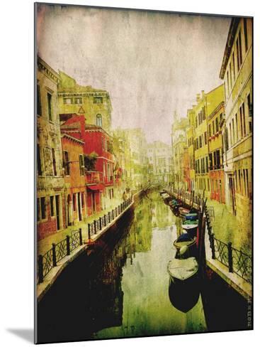 Streets of Italy III-Robert Mcclintock-Mounted Art Print